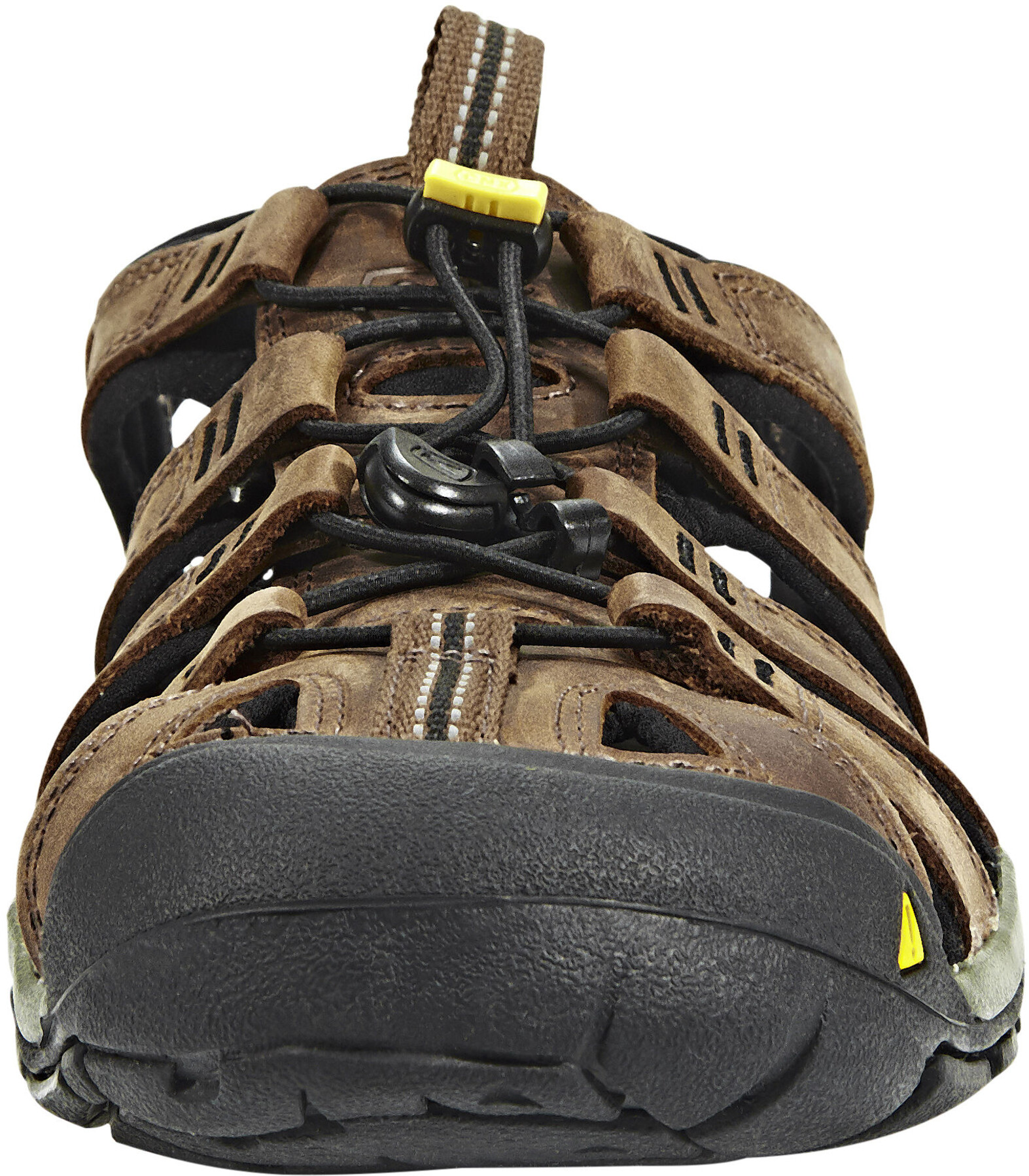 cc5689825f5 Keen Clearwater CNX Leather - Sandales Homme - marron sur CAMPZ !